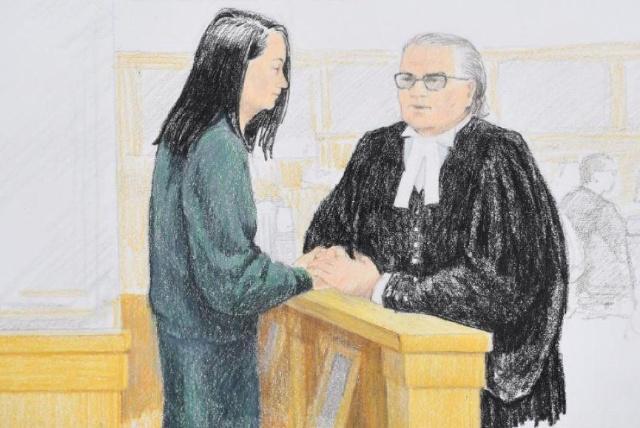 被加拿大拘押中国公民孟晚舟获得保释